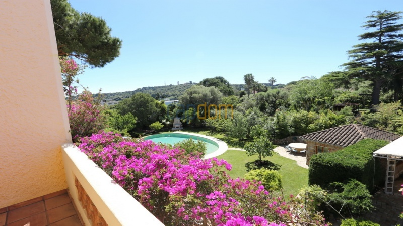 Villa for sale  Cap d'Antibes - view garoupe third floor