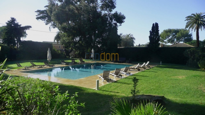 Large stone-built villa for rent cap antibes  - swimming pool and gardens