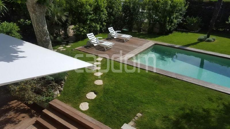 Recently build villa for sale Salis Beach Cap d'Antibes - view from upper floor