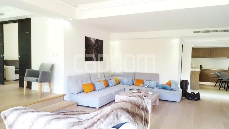 Recently build villa for sale Salis Beach Cap d'Antibes - living area