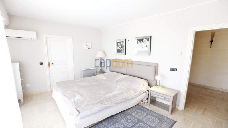 Gorgeous waterfront villa with panoramic sea view  cap d antibes  - bedroom 2