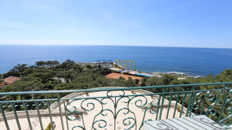 Fully renovated apartments for sale cap martin french riviera - sea view