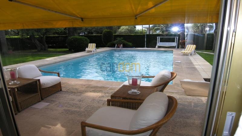 Californian Villa for Vacation Rental Cap d'Antibes near Eden Roc - Terrace
