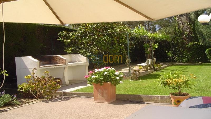 Californian Villa for Vacation Rental Cap d'Antibes near Eden Roc - Barbecue area