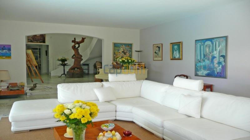 Californian Villa for Vacation Rental Cap d'Antibes near Eden Roc - Living area