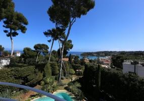 Вилла в тихом месте - Панорамный вид на Гаруп - балконная терраса