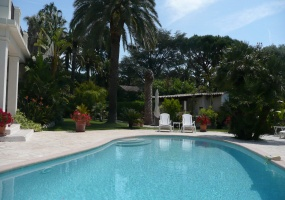 Contemporary Villa for rent in Cap Antibes - swimming pool